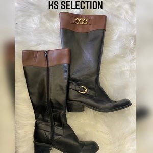 KS Riding Boots Extended Wide Calf